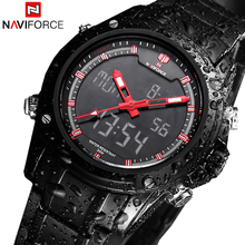 Sport Men's Quartz Wrist Watch NAVIFORCE Military Watch For Men Clock Full Steel Men Watches Relogio masculino Reloj Hombre 2016