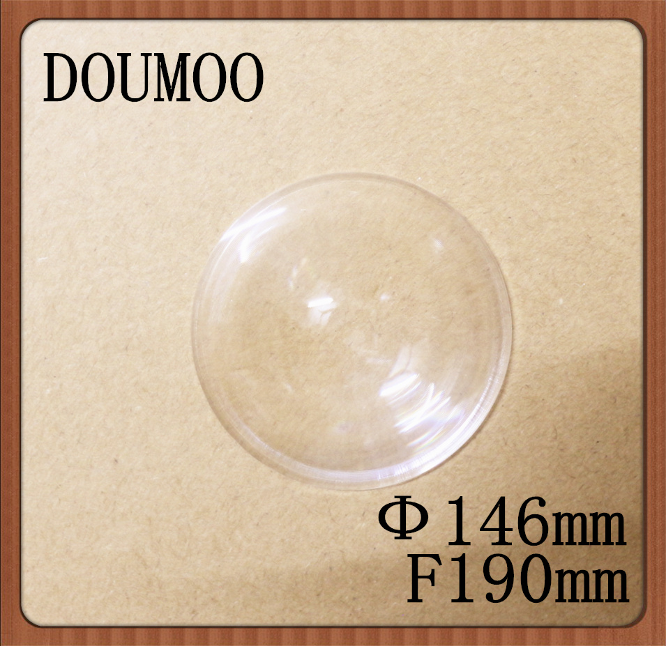 4 pcs small fresnel lens PMMA acrylic material diameter 146 mm focus 190 mm fresnel lens Magnifier Solar concentrator(China (Mainland))