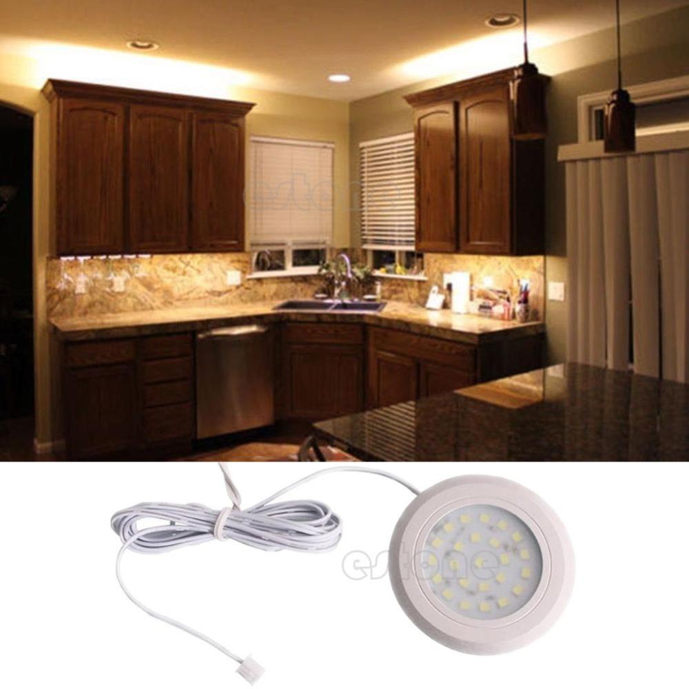 Under Cabinet Lighting Kitchen : 24 SMD LED Kitchen Under Cabinet Light Home Under Cabinet Light ...