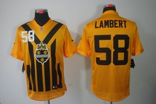 100% Stitiched,Pittsburgh Antonio Brown Heath Miller Le'Veon Bell Ben Roethlisberger Throwback for men(China (Mainland))