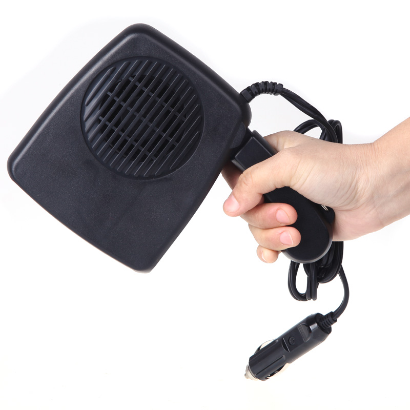 Hot Selling Car Auto Vehicle Electric Fan Heater Heating Windshield Defroster Demist 12V 200W Wholesale Fast Shipping(China (Mainland))