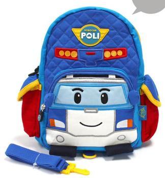 Младенцы рюкзак питомник автомобиль 3D анти-потерянный дети рюкзак хлопок ранец сумки ...