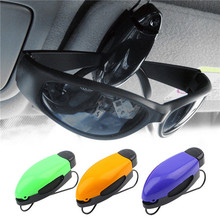 Car Vehicle Accessory Sun Visor Sunglasses Eye Glasses Card Pen Holder Clip