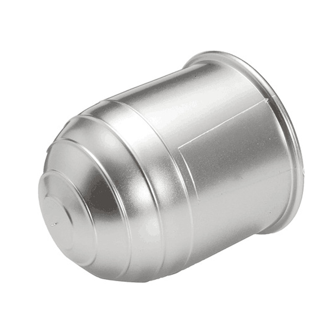 1 x CHROME Plastic Tow Ball Cover //Cap//Protector 50mm for Swan Neck Flange NEW