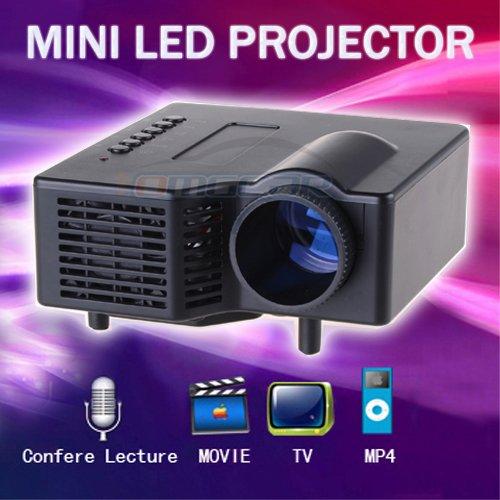 Mini projector mini led projector av digital w usb vga 17 for Mini digital projector