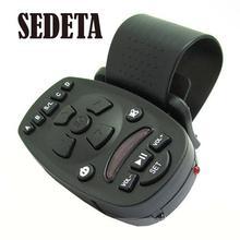 New 1pcs Universal Steering Wheel Remote Control for Car Audio Video MP3 16 keys High-capacity memory(China (Mainland))