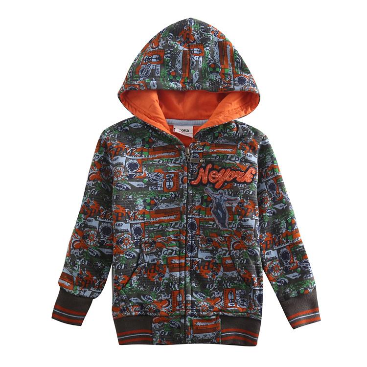FREESHIPPING A3363# 5 pcs/lot 2013 new fashion NOVA kids clothes autumn-winter baby boys hoodies hood