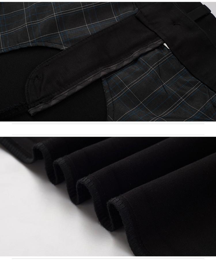 2016 Новые Свадебные Мужчины Костюм Брюки Мода Slim Fit Повседневная Марка Бизнес Блейзер платье брюки мужчины Классические Прямые Брюки Мужчины