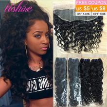Brazilian Virgin Hair with Closure Lace Frontal Closure 13×4 Ear to Ear Lace Frontal Closure with Bundles Brazilian Water Wave