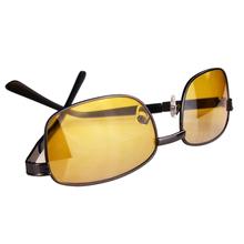 High Quality New Men Women Classic Night Vision Driving Glasses Eye glasses Yellow Lens Free Shipping