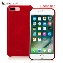 Jisoncase Genuine Leather Case for iPhone 7 Plus 5.5 inch Slim Protective Cover for iPhone 7 Plus Phone Case for iPhone 7 Plus(China (Mainland))
