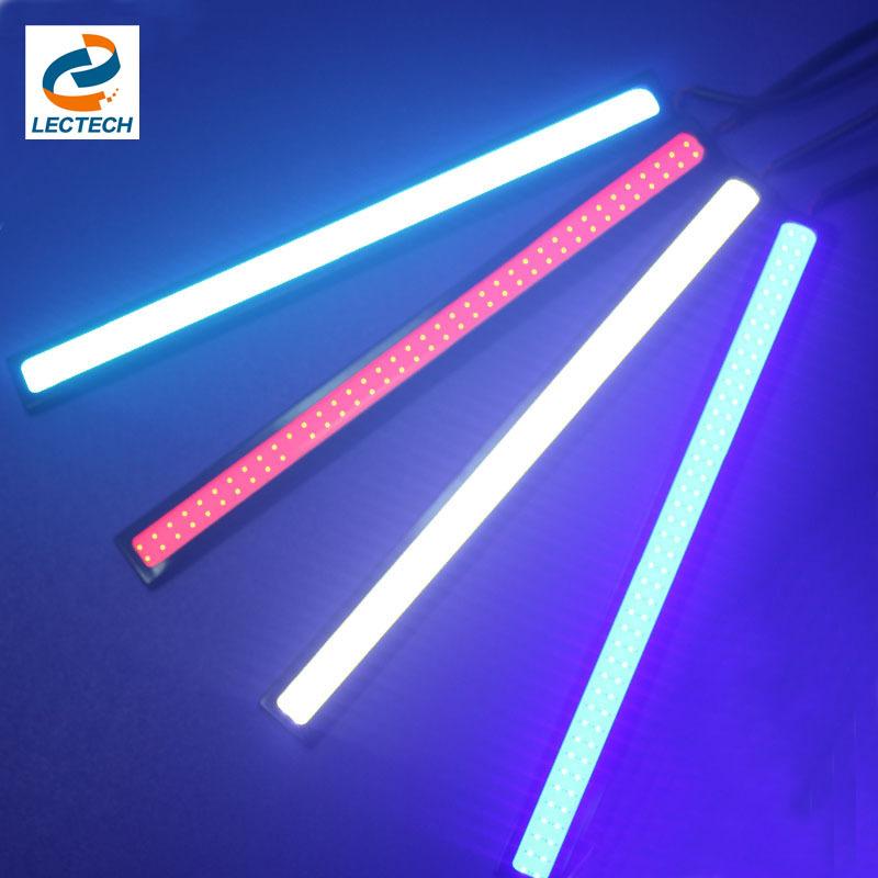 Auto Bulb Daytime Running Light LED 12V 17.3cm Waterproof COB Driving Lighting Source Fog Lamp Solid Strip Automotive Car(China (Mainland))