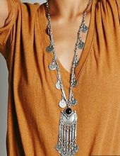 Buy LOVBEAFAS 2017 Fashion Ethnic Collier Femme Bohemian Long Necklace Statement Maxi Vintage Necklace Coin Tassel Fine Jewelry for $3.48 in AliExpress store