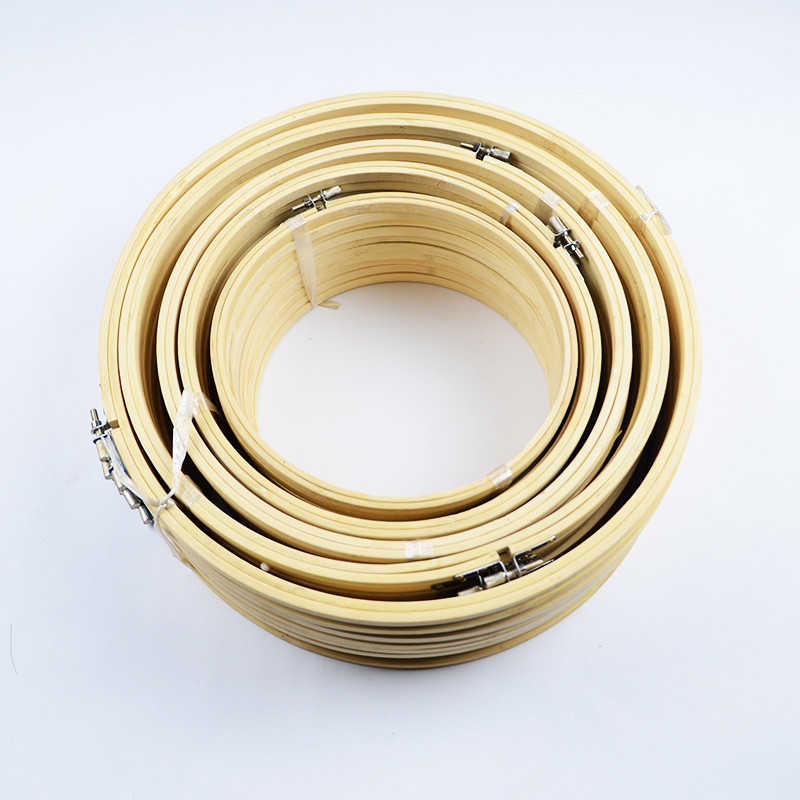 10 Sizes Embroidery Bamboo Hoops Cross Sticth Frames For Wedding Ideas Christmas Wreaths DIY Arts Crafts Home Cafe Decoration(China (Mainland))
