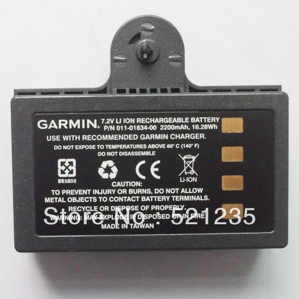Original Garmin 7.2V 2200mAh Battery Pack 011-01834-00 for GPSMAP 620 640 GPS used(China (Mainland))