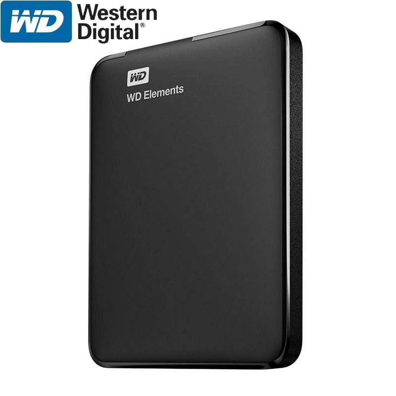WD Elements Portable External Hard Drive Disk HD 1TB 2TB High capacity SATA USB 3.0 Storage Device Original for Computer Laptop(China (Mainland))