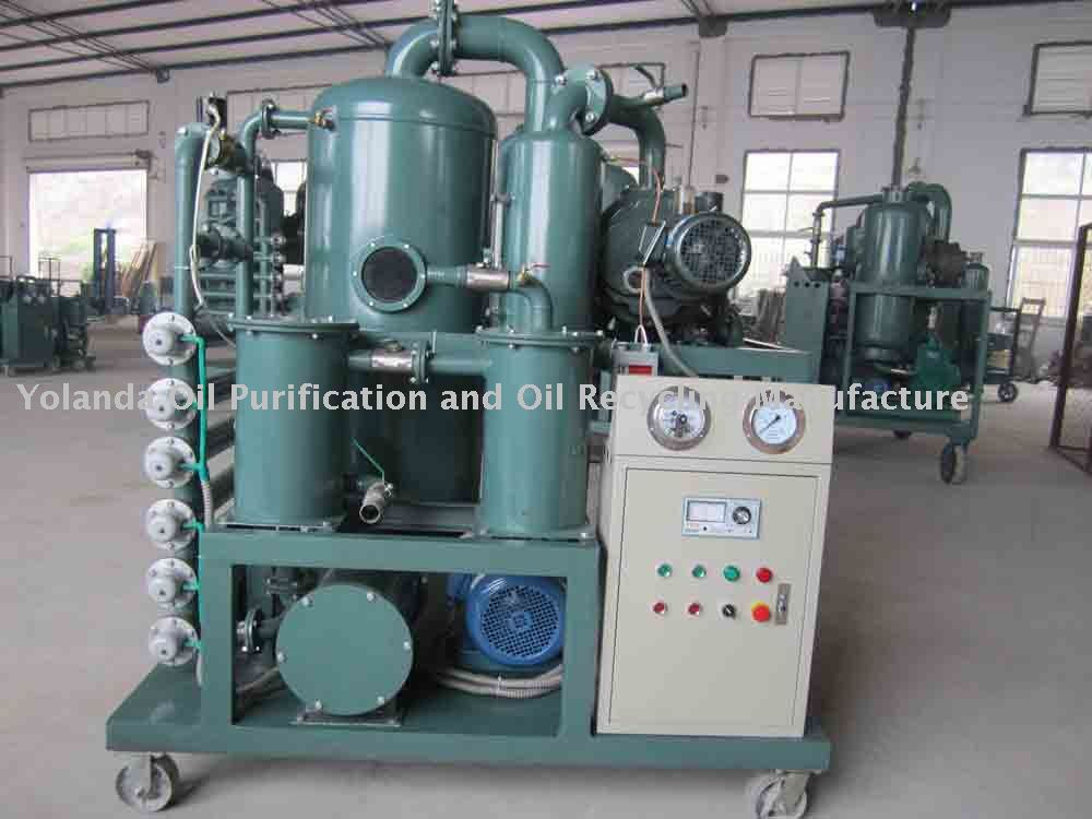Vacuum transformer oil processor, Oil Water Separator and Oil Treatment Machine ZYD(China (Mainland))