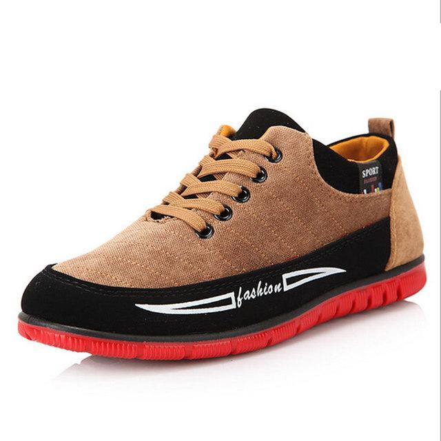 Осень стиль мужчины ткань обувь комфорт свободного покроя корейский XZ00168