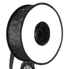 45 см легко анти-кратным вспышка Softbox диффузор отражатель для канона Nikon Pentax Metz Olympus флэш-вспышки макро-объектив фотосессии фотографии