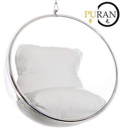 Espace bubble chaise chaise de boule transparente eero - Fauteuil boule suspendu ...