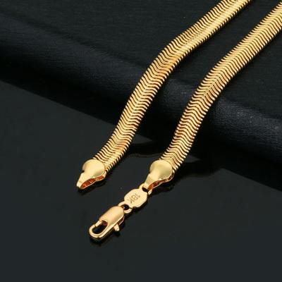 Hot chain bracelet 18k Gold Serpentine chain bracelet Men Women s bracelets bangles B518a