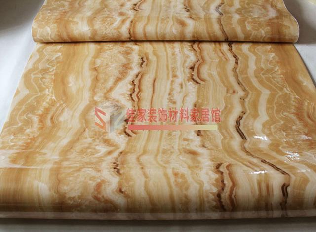 2015 sale wall paper wallpaper wavy thick self-adhesive jade imitation marble countertops cabinets diy renovation waterproof