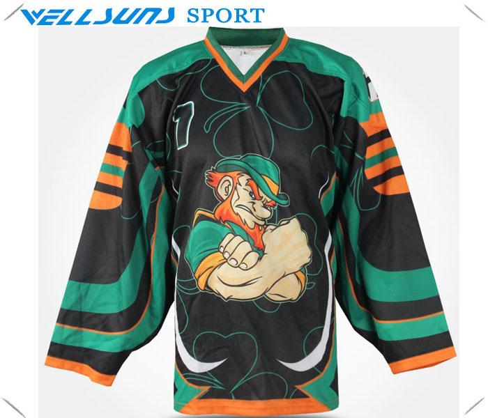 cheap team hockey jerseys youth ice hockey jerseys wear shirts(China (Mainland))