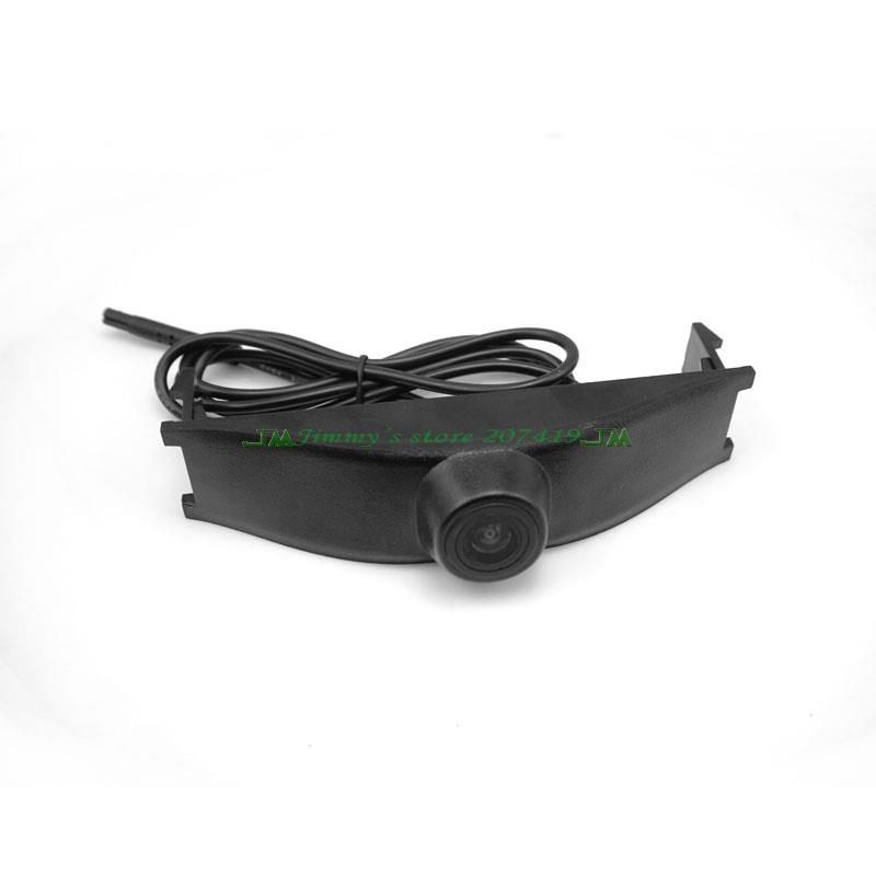 car front positive view camera for 2013 2014 Peugeot 3008 front camera waterproof in stock waterproof(China (Mainland))