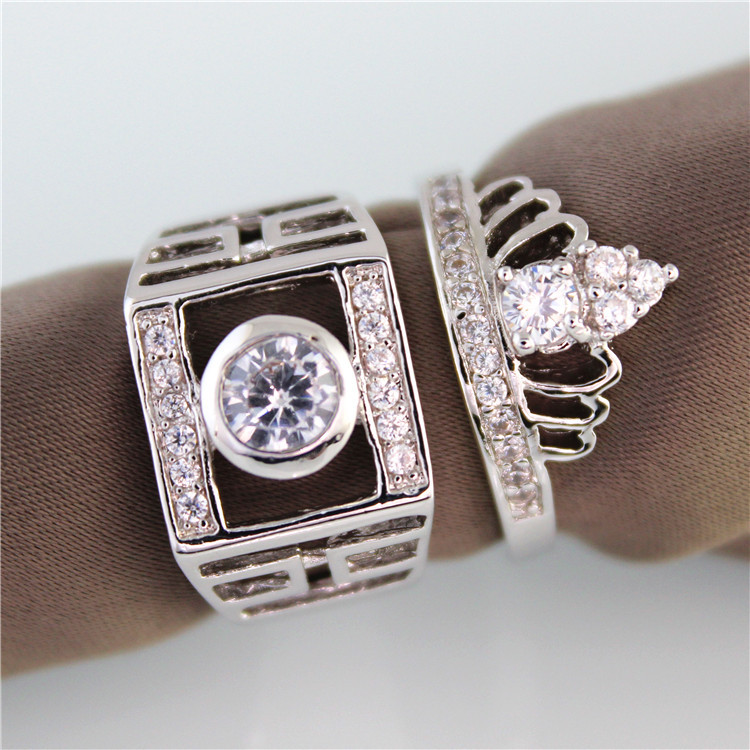 Кольцо 60% Bague 7, 8, 9, 10, 11 JX005 925 silver ring