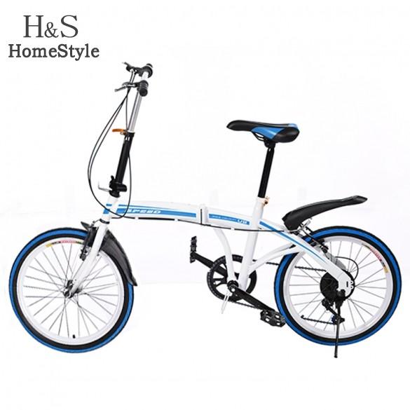 Bicycle manufacturers supply brand ladies folding bike 20 inch 6 speed shock damping bicycle ladies lady 22(China (Mainland))