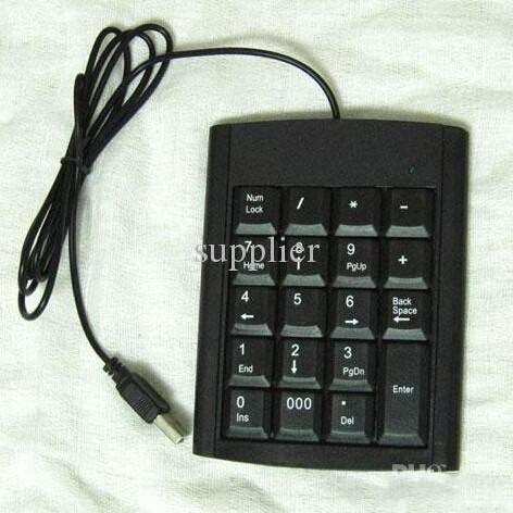 USB 19 keys Numeric Number Num Keypad Keyboard For Laptop Notebook netbook(China (Mainland))