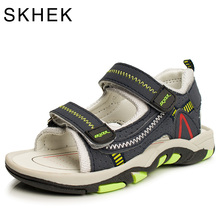 2017 Summer Kids Shoes Brand Closed Toe Toddler Boys Sandals Orthopedic Sport PU Leather Baby Boys Sandals Shoes(China (Mainland))