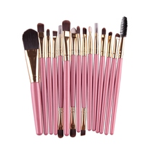 1Professional Cosmetic Makeup Brush Women Foundation Eyeshadow Eyeliner Lip Brand Make Eye Brushes Set 4 ColorsZQ1 - Small Fly Elephant store