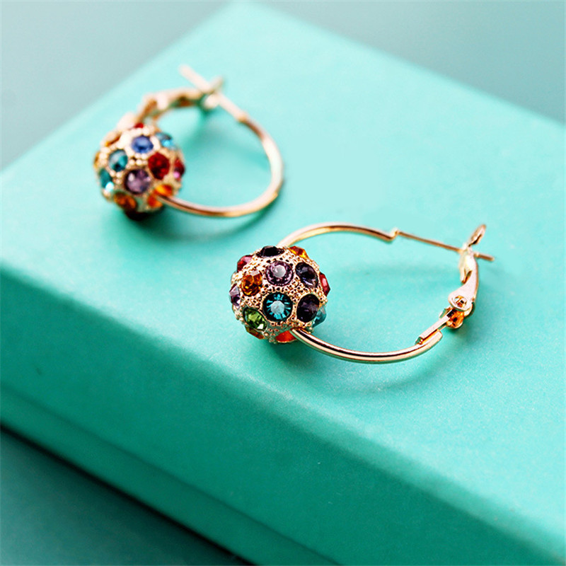 Lastest  Women Earring New 2013 Fall Jewelry From Reliable Jewelry Swarovski