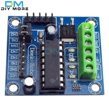 Buy Mini 4-Channel Motor Drive Shield Expansion Board L293D Module High Voltage Current Module Arduino UNO MEGA 2560 for $1.23 in AliExpress store