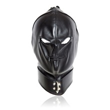 Buy Adult games head bondage leather mask Open mouth eyes bdsm fetish mask sex toys couples sex products for $14.63 in AliExpress store