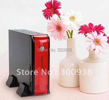 DHL/EMS Free Shipping Mini PC Desktop Computer With AMD Athlon N330 Dual-core 2.3Ghz Processor 2G Ram 320G HDD Wifi Win7 OS HDMI