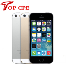 Buy Factory Unlocked Original Apple iPhone 5S 16GB / 32GB /64GB ROM 8MP Touch ID 1080P WIFI GPS 4.0 inch fingerprint IOS used phone for $158.48 in AliExpress store