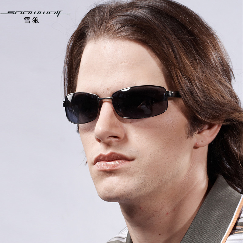 The left bank of glasses polarized sun glasses male driving mirror sunglasses cool sw405