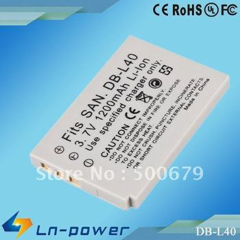 Replacement Camera Battery for sanyo DB-L40