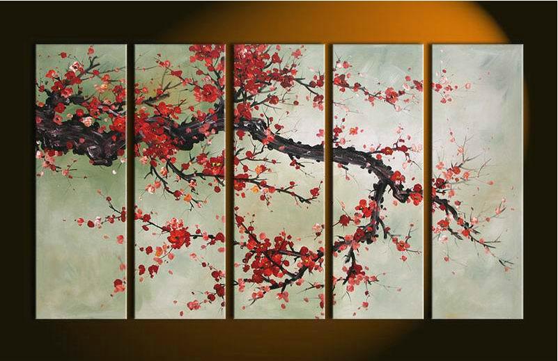 Acquista all 39 ingrosso online fiori di ciliegio dipinti da for Fiori di ciliegio dipinti