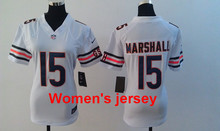 A+++ Women ladies all stitched Chicago Bears 13 Kevin White 17 Alshon Jeffery 89 Mike Ditka 34 Walter Payton 22 Matt Forte(China (Mainland))