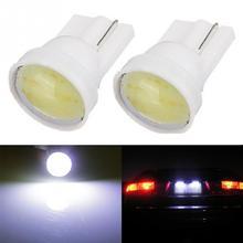 Hot New DC12V car side wedge lights 1W T10 W5W 194 168 501 SMD COB LED Car Lamp, Auto Side Wedge Lamp Taillight(China (Mainland))