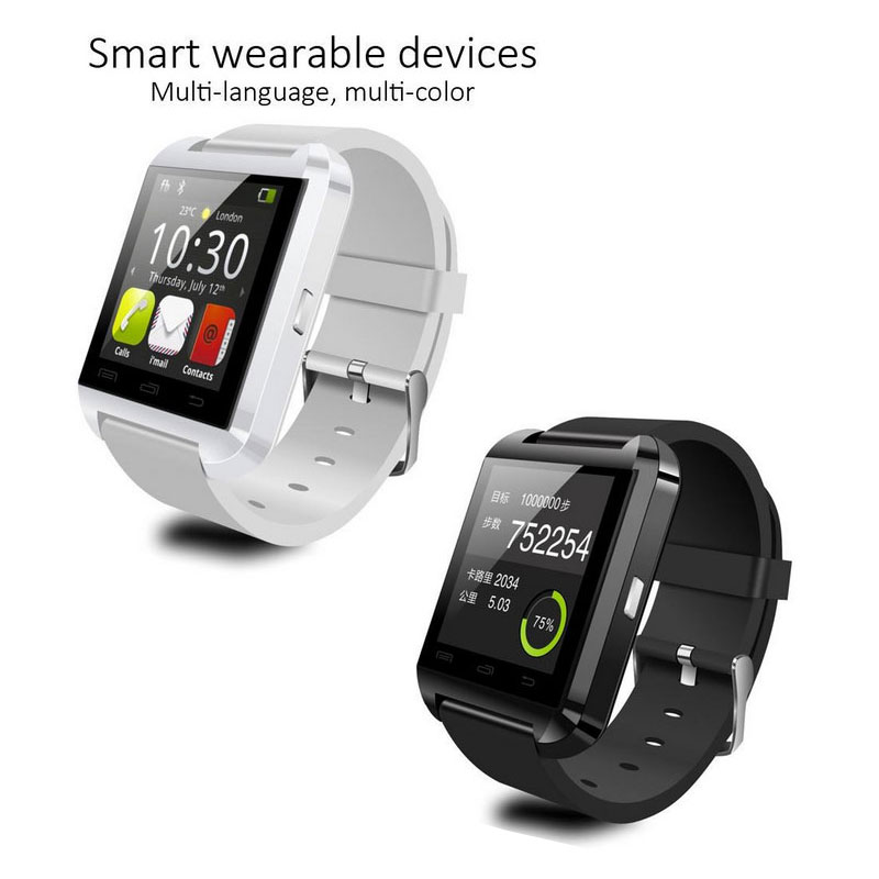 bluetooth Smart Watch WristWatch  Phone Watch for Samsung HTC Huawei LG Xiaomi Android Smartphones Support Sync Call Message