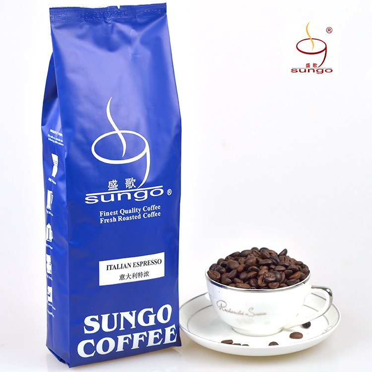 Free shipping 454g Sungo espresso coffee beans fresh coffee powder green slimming coffee beans new 2015