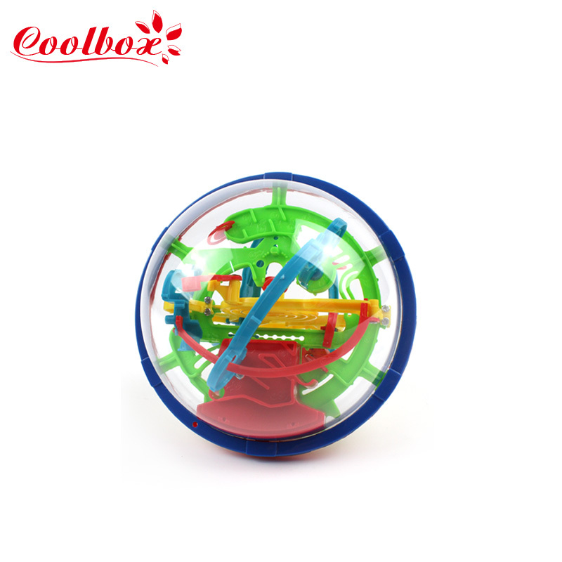Magic Puzzle Ball Educational Magic Intellect Ball Puzzle Game Magnetic Balls for Kids-100 Steps(China (Mainland))