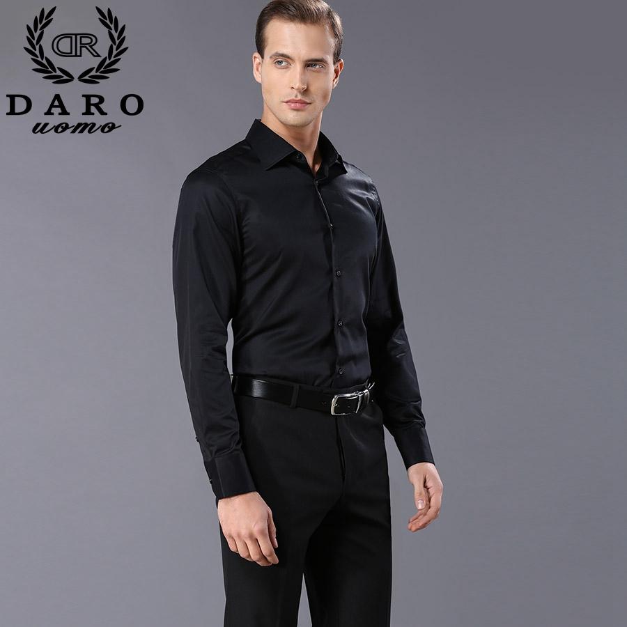 Buy custom designer men 39 s dress shirts for Mens black dress shirts sale