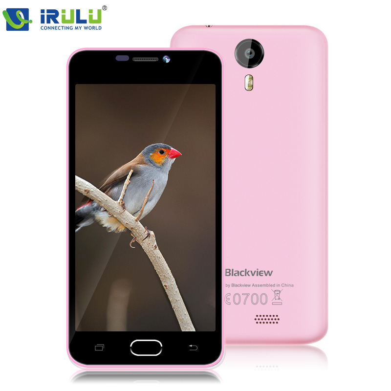 "iRULU Blackview BV2000 4G LTE 5.0"" HD IPS 720P Smartphone Android 5.1 Quad Core MTK6735 1GB+8GB ROM Mobile Cell Phone(China (Mainland))"