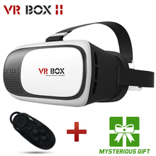HOT Google cardboard VR BOX II 2.0 Version VR Virtual Reality 3D Glasses For 3.5 - 6.0 inch Smartphone+Bluetooth Controller 1.0(China (Mainland))