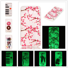 Fashion Luminous Case Slim Fluorescence Soft TPU Cover Samsung Galaxy J5 2016 J510 J510F J510M Glow Dark Silicon Skin - Factory Direct Selling-The Lowest Price! store
